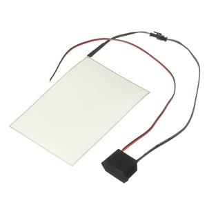 Image 3 - 105mmx148mm 12V A6 EL Panel Light Electroluminescent Light Paper Neon Sheet W/ Actuator