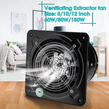 4/6/7/8Inch Extractor Ventilation Fan Exhaust Fan High Speed Bathroom Kitchen Toilet Air Vent Wall Fan Air Extractor