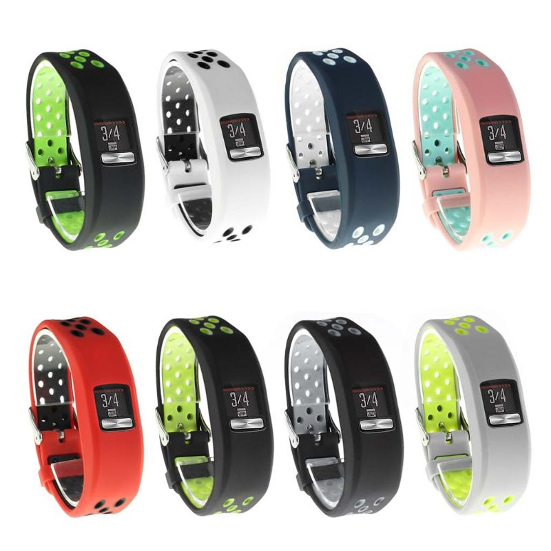 NEW Plaid Textured Strap For Garmin Vivofit4 Soft Silicone Replacement Wristband Watch Band For GARMIN VIVOFIT 4 Bracelets