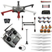 6-Axis RC Aircraft Hexacopter Helicopter ARF Drone with AT10 TX/RX 550 Frame GPS with AT10 TX/RX 550 Frame No Battery F05114-AR