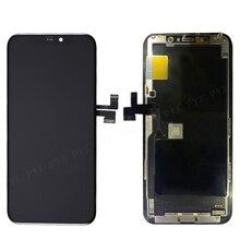 아이폰 11 LCD 디스플레이 터치 스크린 디지타이저 아이폰 11 프로 최대 LCD A2215 A2160 A2217 아이폰 11 프로 A2218 A2161 A2220