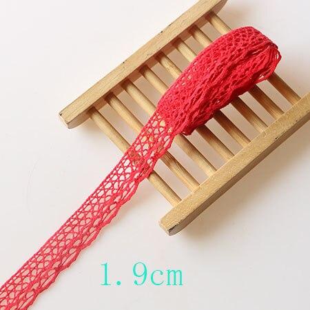 red 1.9cm 5yard
