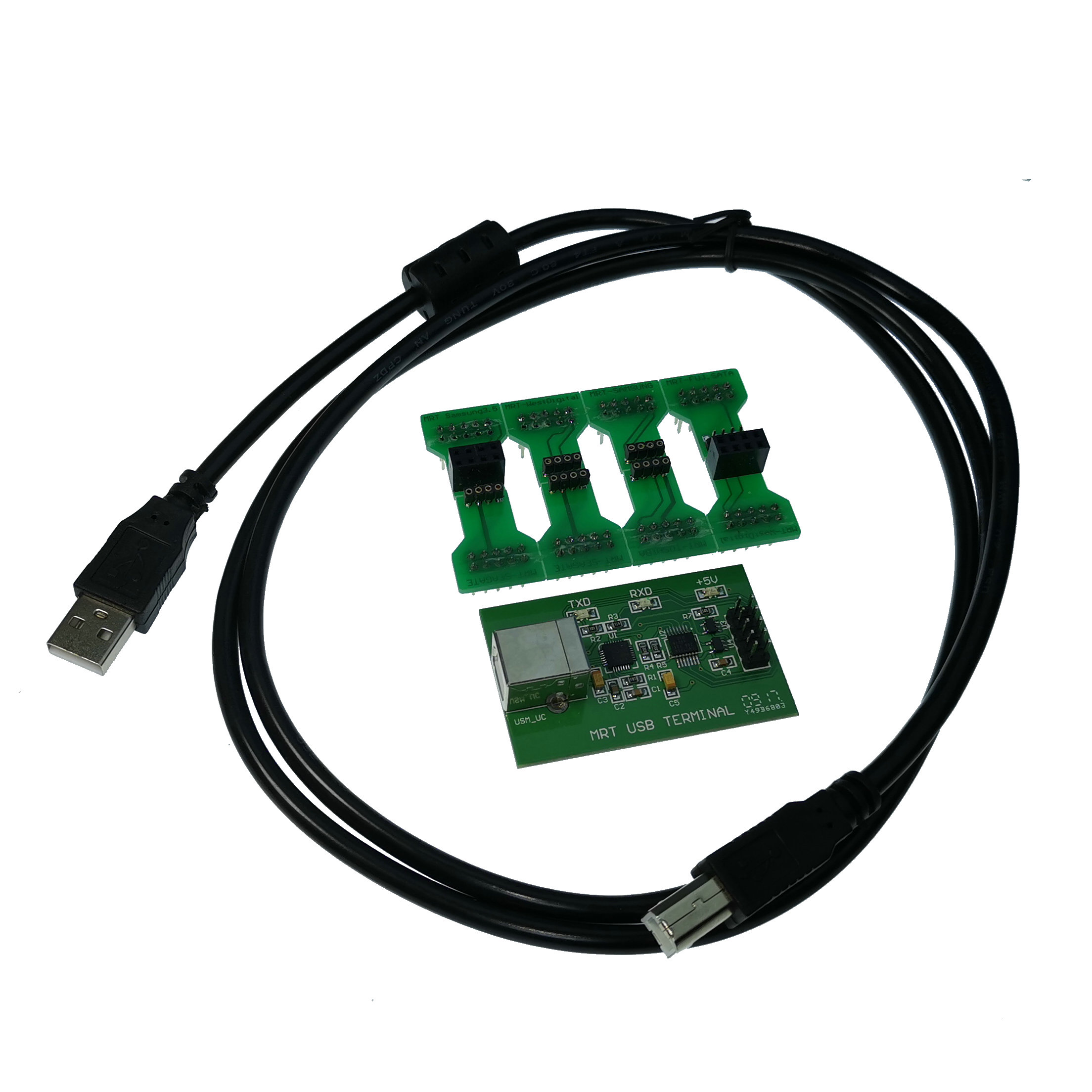 MRT USB Single Core Card + Command Base Includes Cable COM Connector To Support PC3000