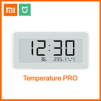 Xiaomi Mijia Bluetooth Digital Thermometer PRO Temperatur Feuchtigkeit Sensor LCD Bildschirm Hygrometer Feuchtigkeit Smart Verknüpfung Mi APP