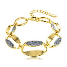 Viennois Bracelet & Bangles For Women Rose Gold/ Gold Color Chain Bracelet Shining Polishing Wedding  Jewelry 2020 stylish rhinestones faux pearls rose gold bracelet for women