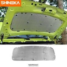 SHINEKA isolamento termico acustico cotone cappuccio motore auto isolamento termico fonoassorbente Pad per Suzuki Jimny JB74 2019 accessori