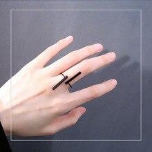 Регулируемый Готический открытые панковские крест кольцо цвета: черный, золотистый, Серебристый; Цвет ручной ремешок на пальцы рук хип-хоп ...