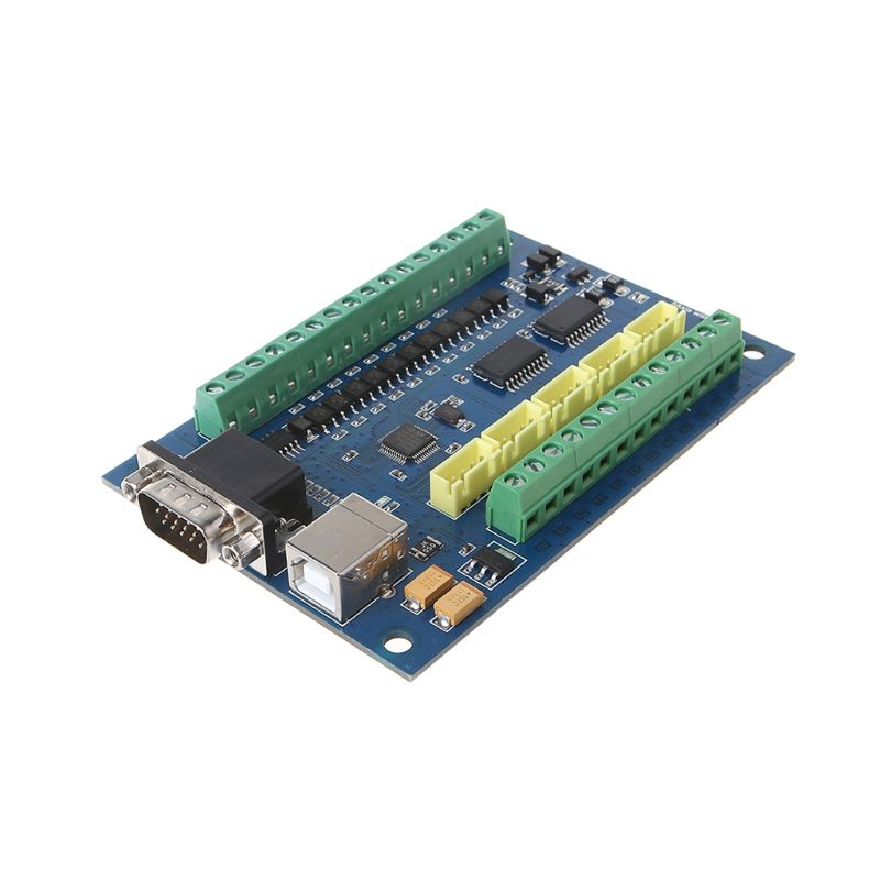 12-24V <font><b>MACH3</b></font> <font><b>USB</b></font> 5 Axis <font><b>100KHz</b></font> Smooth Stepper Motion Control Breakout Board for <font><b>CNC</b></font> Engraving U1JB image