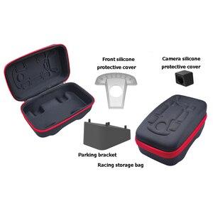 Image 3 - Étui Portable 4 en 1 pour accessoires déquipement électronique, housse de Protection pour Switch NS Mario Kart, sac de rangement