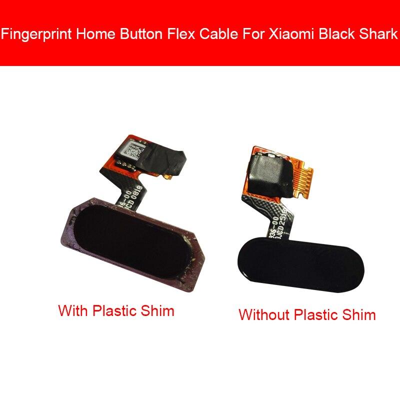Home Button Flex Cable For Xiaomi Black Shark BlackShark SKR-A0 Menu Return Key Touch FingerPrint Sensor Flex Ribbon Repair
