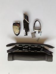 NEW brand  HANDLE KIT 1774992 for FORD GALAXY S-MAX 06-15 SOFT FEEL HANDBRAKE STOP