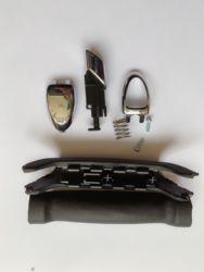 NUOVO di zecca MANIGLIA KIT 1774992 per FORD GALAXY S-MAX 06-15 SOFT FEEL FRENO A MANO di ARRESTO