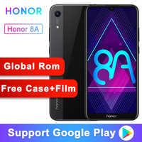 Original Honor 8A Smartphone Android 9.0 Octa-core 6.09 inch Full Screen 1560x720 Dual Camera 3020 mAh 3 Slots Cell Phone