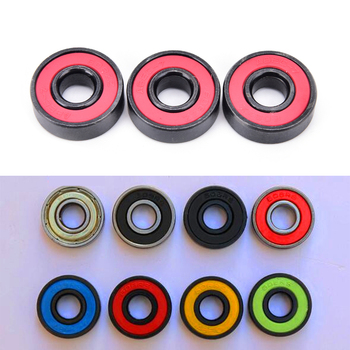 1Pc New 608zz Bearing 8*22*7 mm Skateboard 608RS Ball Bearings Miniature 608 RS Bearing Color Random image