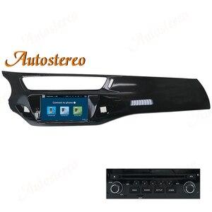 Автомобильный DVD-плеер с GPS-навигацией, Android 9,0, 4 Гб + 64 ГБ для Citroen C3 DS3 2010-2017, мультимедийный плеер, автостерео головное устройство ISP