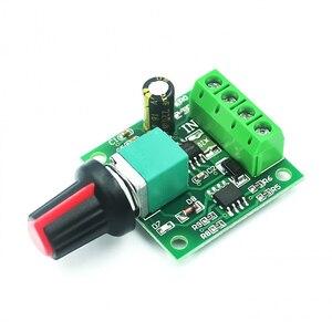 Image 2 - Módulo ajustável da movimentação do controlador pwm 0 module 1.8 da velocidade do motor da baixa tensão controlador de velocidade do motor da c.c. 100% v 3v 5v 6v 12v 2a pwm