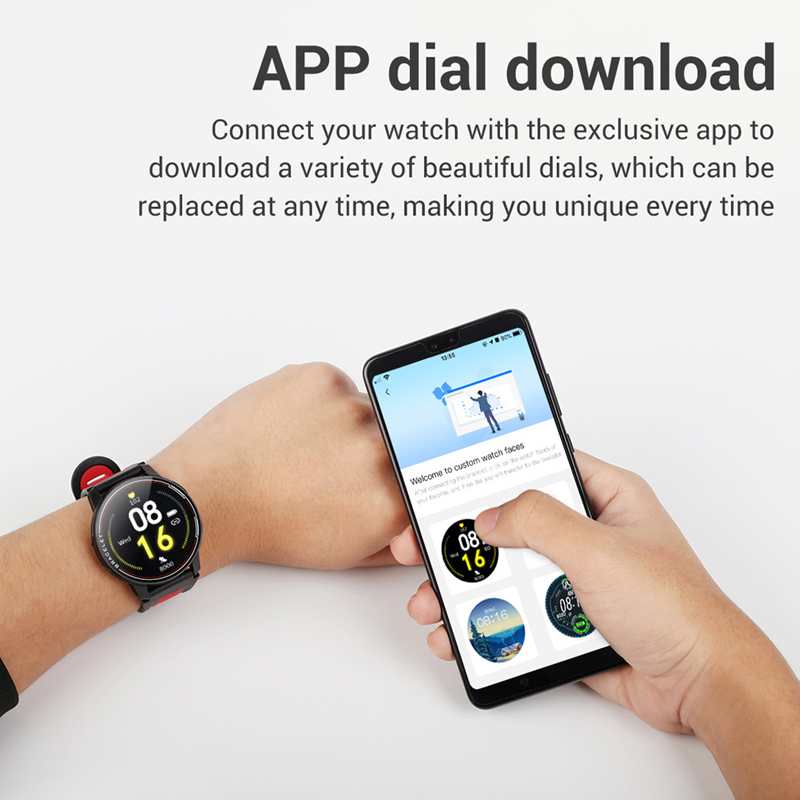 2020 Full Touch Round Smart Watch Men IP68 Waterproof Blood Pressure Smartwatch Women Heart Rate Sport Clock For Android IOS 6