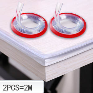 Protectors-Bumper-Strip Drawers Furniture-Guard-Corner Cabinets-Tables Table-Edge Transparent