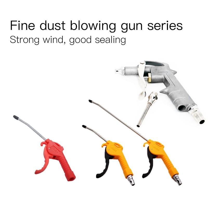 1 Pc Air Blow Gun Yellow Angled Nozzle Plastic Handle Dust Gun Air Compressor Air Pump AR-TS