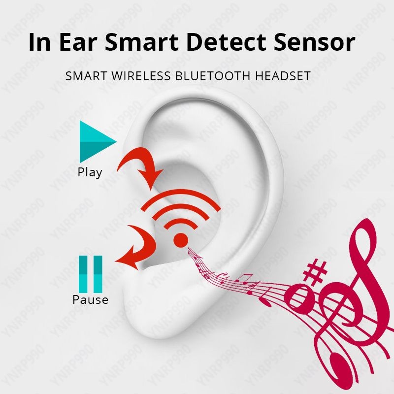 Earphone Airpodding Pro 3 Wireless charge bluedio ios Bluetooth tws Smart Touch Earbuds With Case for iPhone Android pod Pro 3
