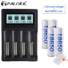 18650 battery 3.7V 3200mAh rechargeable Li-ion for Led flash light Wholesale+USB charger