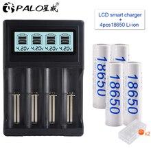 18650 battery 3.7V 3200mAh rechargeable Li-ion battery for Led flash light battery 18650 battery Wholesale+USB charger for 18650 beacon 18650 3200mah rechargeable battery black 2 piece pack
