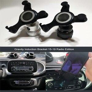 Image 1 - Автомобильный Радио Интерфейс GPS навигация Кронштейн Держатель для Smart Fortwo 453 15 19 автомобильные аксессуары