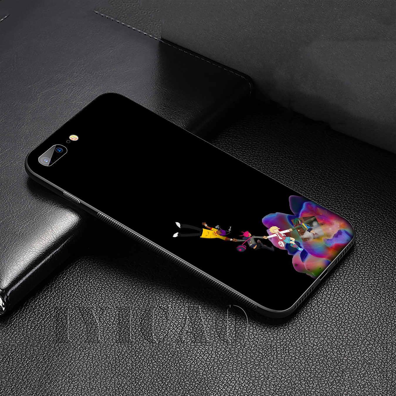 Nước Ép Wrld Silicone Mềm Cover Cho iPhone 11 Pro XR X XS Max 6 6S 7 8 Plus 5 5S SE Ốp Lưng Điện Thoại