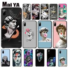 Vintage Plaster Statue David Aesthetic Art Cover Case For Xiaomi Redmi Note 4x 4a 5 5a Plus 6 6a Pro S2 Telephone Accessories vintage plaster statue david aesthetic art cases cover for xiaomi redmi note 4x 4a 5 5a plus 6 6a pro s2 phone accessories