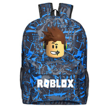 Striped Robloxer Backpack For Teenagers Kids Boys Children S