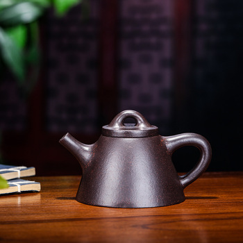 Teapot Pure Manual Raw Ore Black Gold Just Overlord Shipiao Kettle Kung Fu Tea Have Household Infusion Of Tea Kettle Special