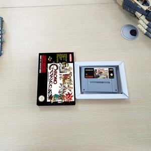 Chrono Trigger-версия евро карта для игры RPG батарея сохранить с розничной коробкой