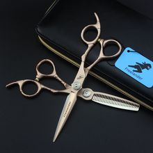 Japan Steel Hair Scissors 6 Inch Professional High Quality Barber Hairdressing Cutting Thinning Shears