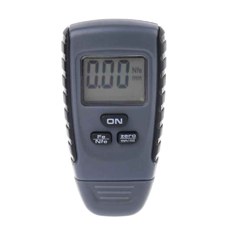 LCD RM660 Digital Auto Car Paint Coating Thickness Tester Measuring Gauge Meter