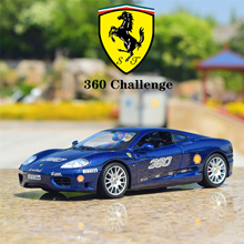 Bburago 1:24 FERRARI 360 Challenge simulation alloy car model Collect gifts toy bburago 1 24 ferrari 550 maranello simulation alloy car model collect gifts toy