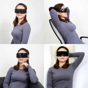 Image 4 - 전기 진동 눈 마사지기 눈 관리 장치 주름 피로 회복 자석 치료 침술 마사지 안경 안경 P49