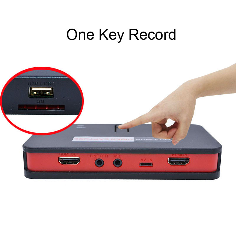 EZCAP 284 1080P Ypbpr AV CVBS HDMI Video Capture Card Game Grabber Box for Switch XBOX PS4 Phone Video Record OBS Live Streaming 2