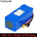 VariCore 36V 8Ah 10S4P 18650 аккумуляторная батарея модифицированные велосипеды  электрический автомобиль 42v баланс автомобиля с BMS резервного питания