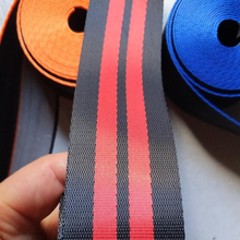 Car Seat Belt For 1/2/4/5 Seat Front back/rear Seat Racing Harness Strip Ribbon Safety Webbing Universal 3.8/7.6/15.2 meters