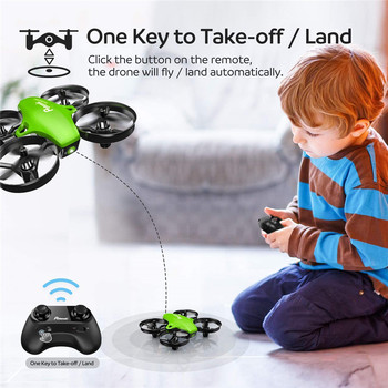 Potensic A20 Mini Drone for Kids Beginners Easy to Fly Headless Mode RC Helicopter Quadcopter Remote Control With 3 Batteries 3