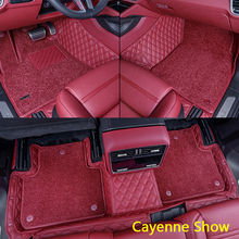 Car-Floor-Mats Porsche Cayenne Carpet Special for Coupe/suv 3D Luxury Waterproof Protection
