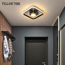 Современный светодиодный потолочный светильник 110 В 220 для
