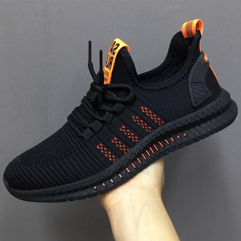2020 Autumn New Trend Wild Jogging Shoes Outdoor Breathable Sneakers Deodorant Lightweight Men's Shoes Zapatillas De Deporte