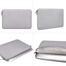 Laptop Sleeve Bag Notebook Case 13.3 14.1 15.4 15.6 Inch Waterproof Simple Fashi