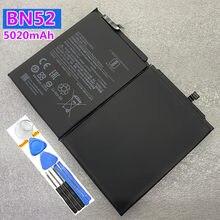 Bateria de substituição original nova bn52 5020mah para o telefone móvel xiaomi bn52
