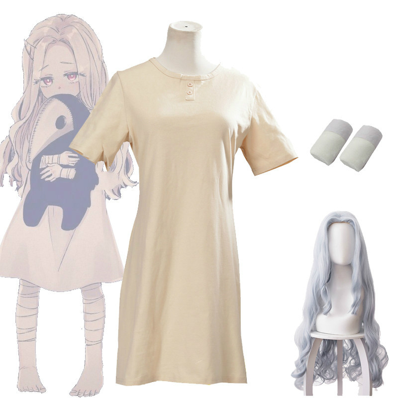 Anime Boku no My Hero Academia Eri Cosplay pelucas disfraces mujeres Halloween vestido accesorios cuerno