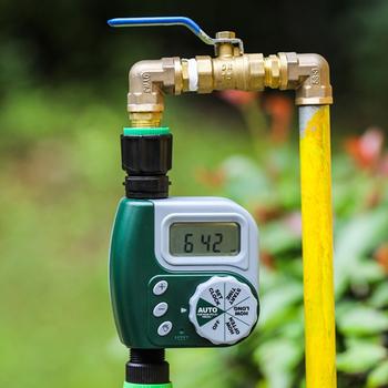 Zegar ogrodowy narzędzia ogrodnicze ogrodnictwo podlewanie ogrodu system konewka inteligentne nawadnianie ogrodu zegar system nawadniania tanie i dobre opinie Ac pro Ogród wodny timery Z tworzywa sztucznego LW355