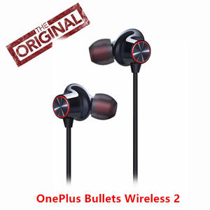 Original OnePlus Bullets Wireless 2 Earphones  Fast-Charge Type c  Google Assistant  For oneplus 7pro