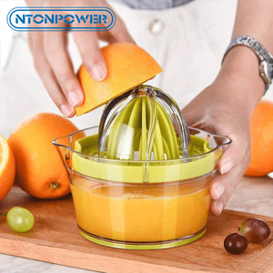 Image 1 - NTONPOWER 4 in 1 Multifunctional Lime Squeezer Manual Juicer with Multi Size Reamers Ginger Garlic Grater Kitchen Accessories