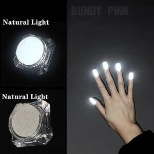 Светоотражающий Пигмент Порошок для дизайна ногтей порошок для дизайна ногтей хлопковый Пигмент Порошок